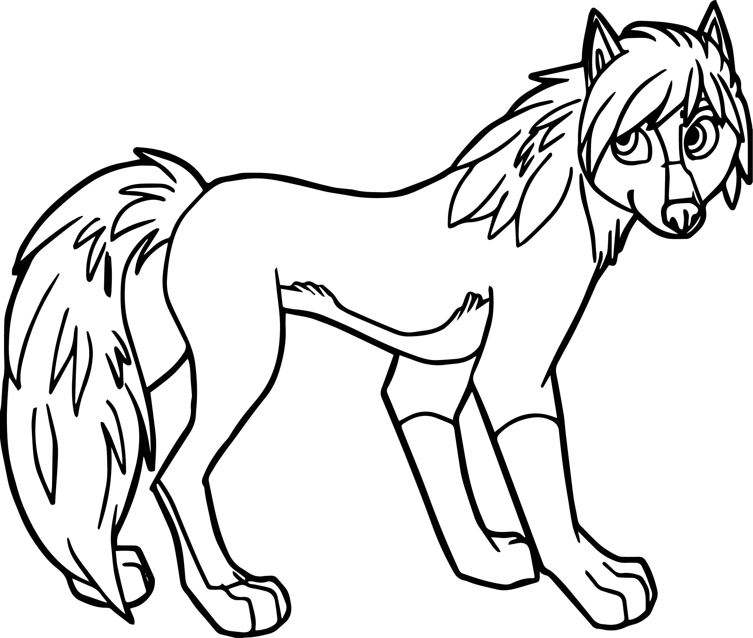 Unique Girl Wolf Coloring Pages Printable Collection to Print Of Wolves Coloring Pages Wolf Coloring Pages Free Coloring Pages Collection