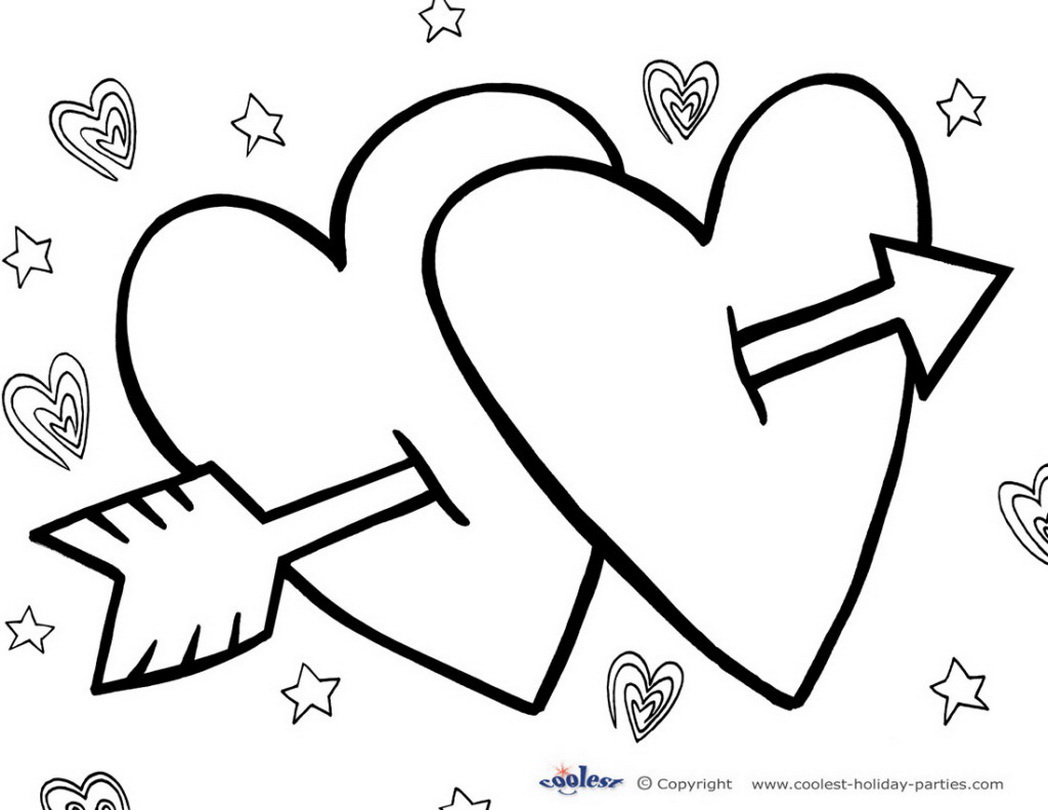 Valentine Day Coloring Pages Stunning Valentine Day Printable Gallery Of Valentine Day Printable Coloring Pages Free Coloring Library Download