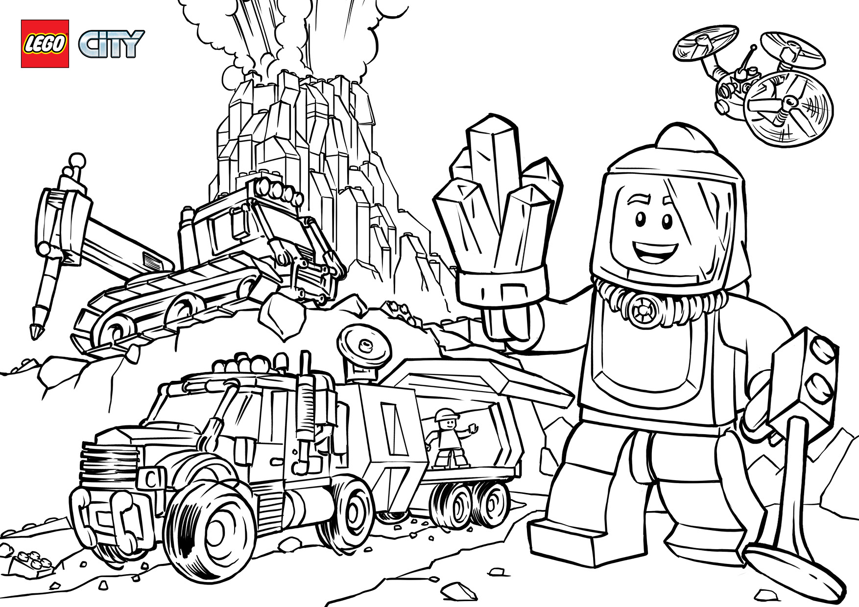 Volcano Explorers Coloring Pages Lego City Lego Us to Print Of Lego Dimensions Coloring Pages Collection Page Ninja Grig3 Printable