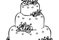 Wedding Coloring Pages Free - Wedding Coloring Pages Free New the Wedding Cakes Coloring Sheet to Print