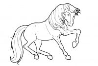 Coloring Pages Of Horses - Wild Horse Coloring Pages to Print 8614 Collection