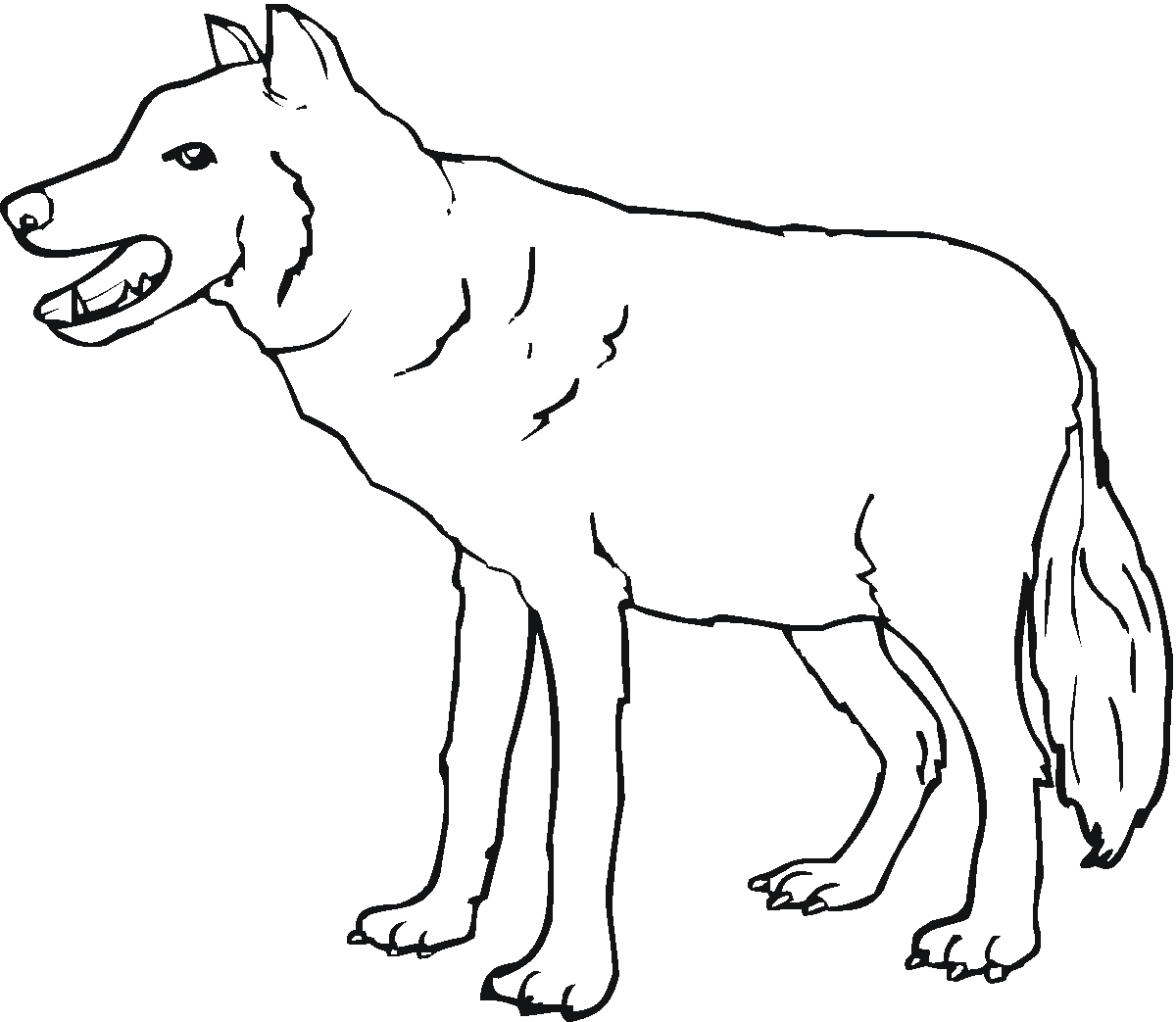 Wolf Coloring Pages Printable - Wolf Coloring Pages Elegant Free Printable Wolf Coloring Pages for Download
