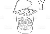 Yogurt Coloring Pages - Yogurt Coloring Page Coloring Pages to Print