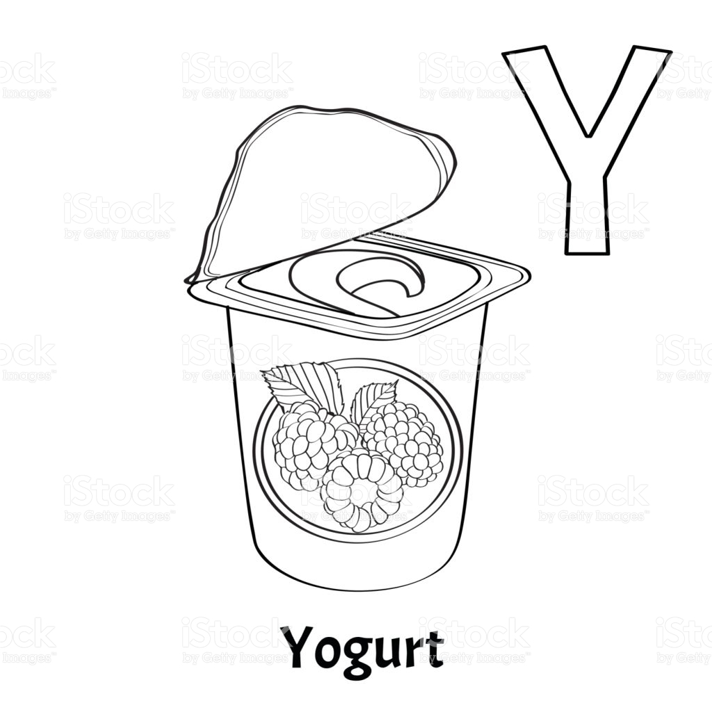 Yogurt Coloring Page Ultra Coloring Pages Gallery – Free Coloring Sheets