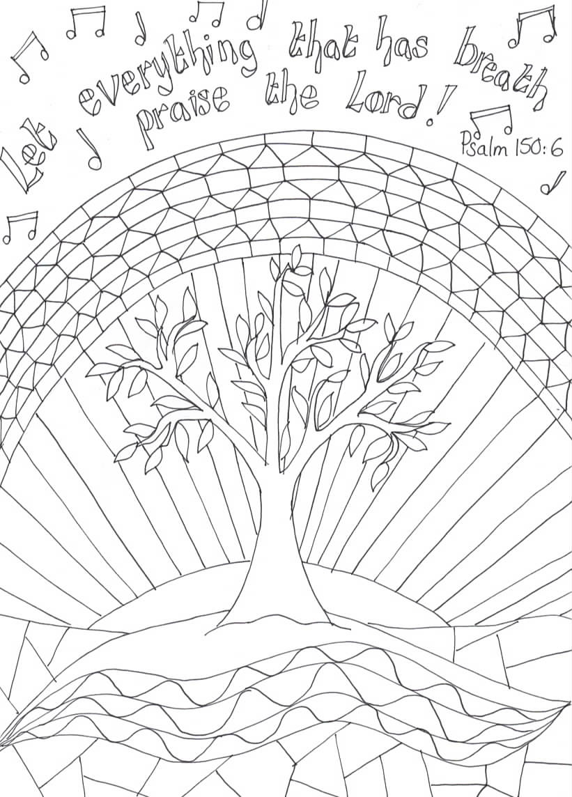 coloring pages praise - photo#21