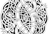 Celtic Mandalas Coloring Pages - 27 Celtic Mandala Coloring Pages Celtic Mandala Coloring Pages Download