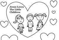Coloring Pages for Sunday School Lessons - 28 Sunday School Coloring Pages for Preschoolers Jesus Loves Gallery