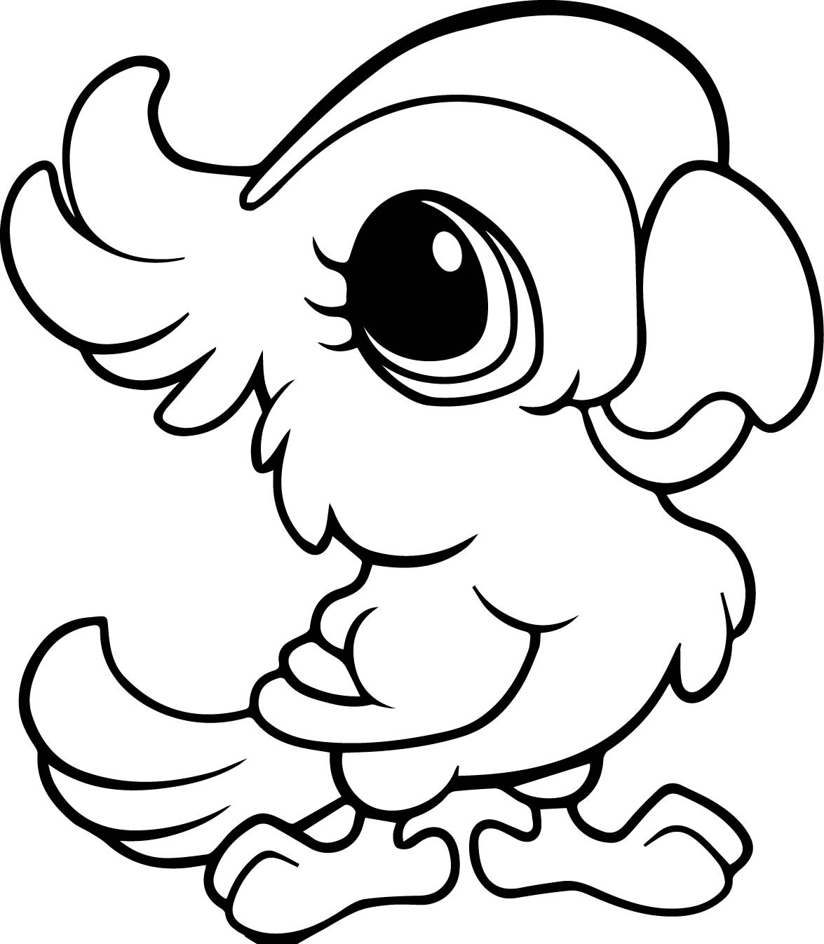 Free Baby Animal Coloring Pages Download 1g - To print for your project