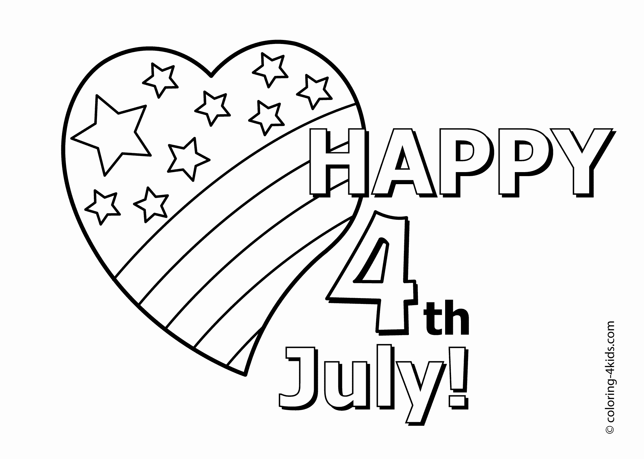 4th July Printable Coloring Pages Fresh Made By Joel Free Download Of Whitehouse