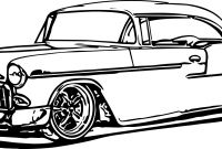 Hot Rod Coloring Pages to Print - Adult Coloring Pages Chevrolet Hot Rods to Print 19 Q Muscle Car Printable