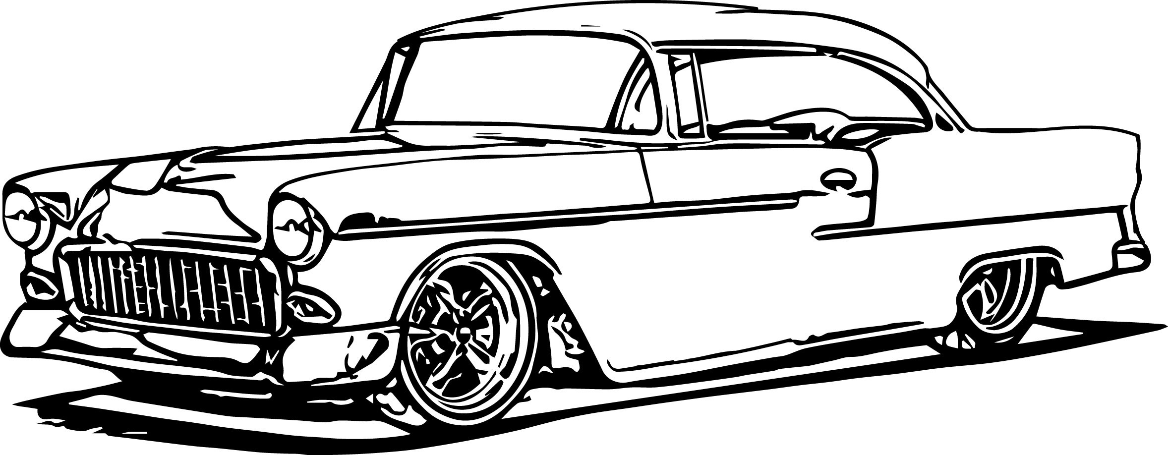 Adult Coloring Pages Chevrolet Hot Rods to Print 19 Q Muscle Car Printable Of Coloring Books and Pages Simple Hot Rod Coloring Pages Pinterest Printable