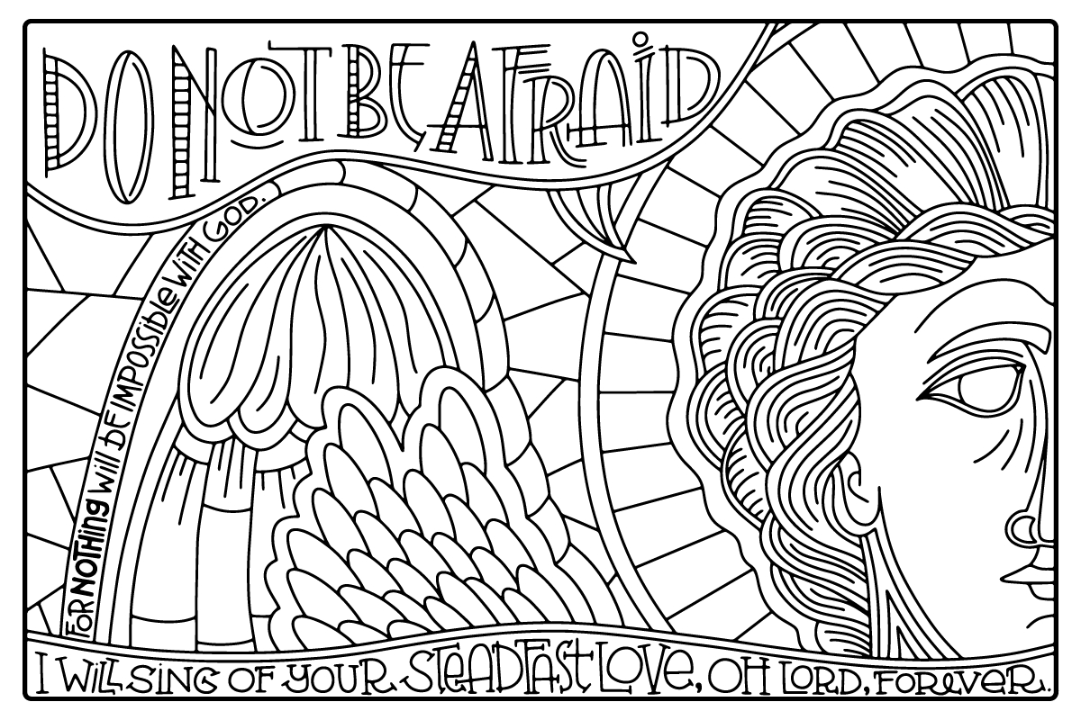 Praise and Worship Coloring Pages Gallery | Free Coloring Sheets