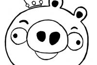 Angry Bird Pigs Coloring Pages - Angry Bird Pigs Coloring Pages to Print