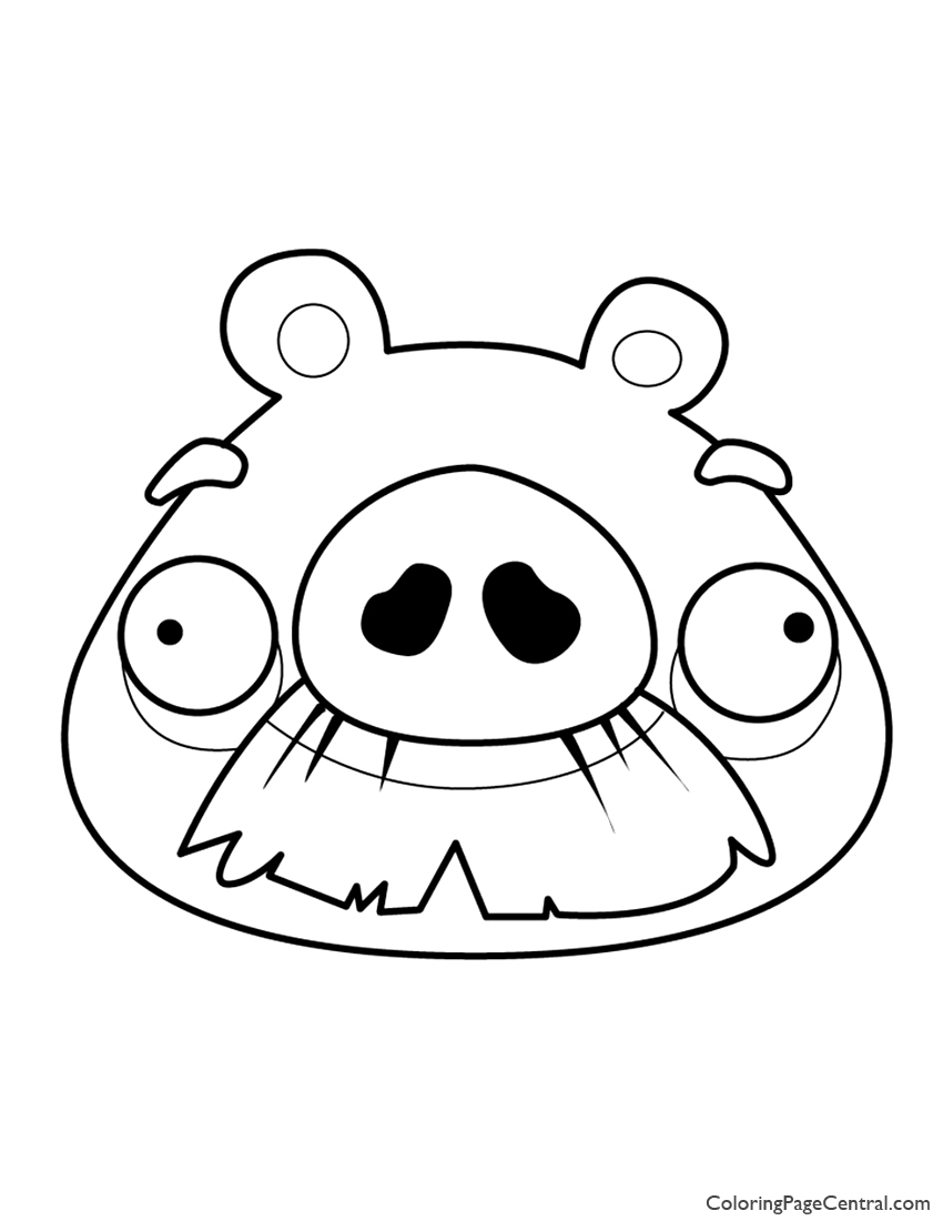 Angry Birds Coloring Pages Lovely Epic Page