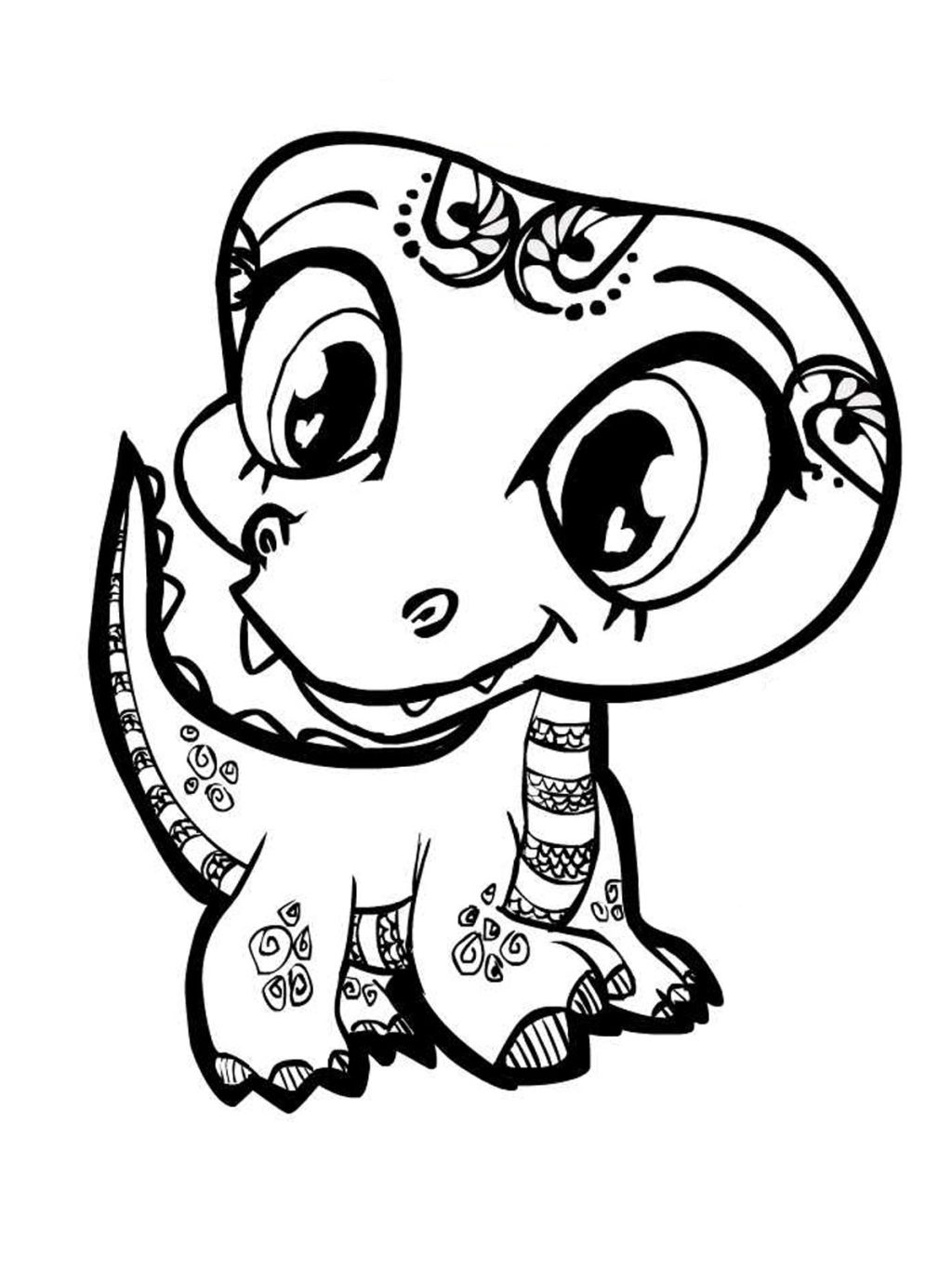 Free Baby Animal Coloring Pages