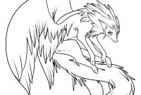 Winged Cat Coloring Pages - Anime Winged Cat Coloring Page Gallery