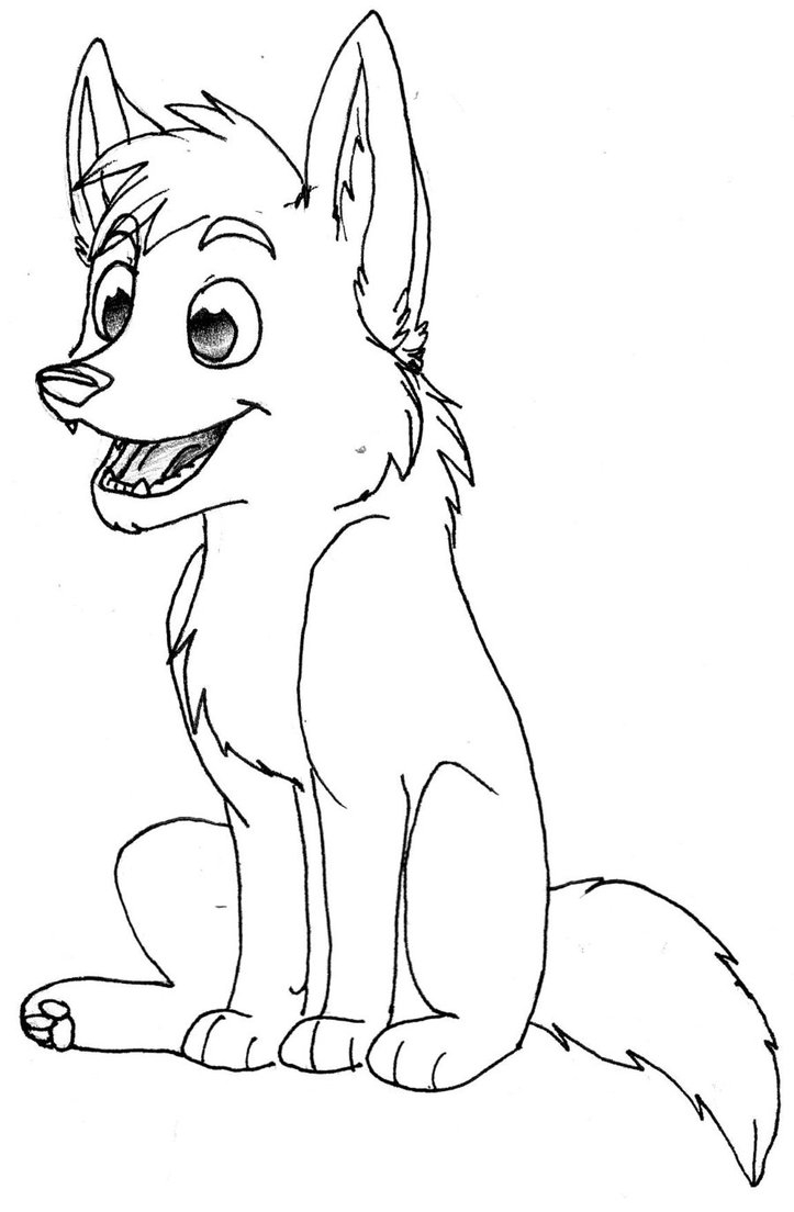 Anime Wolf Pack Coloring Pages Many Interesting Cliparts Download