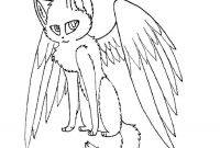 Winged Cat Coloring Pages - astonishing with Wings Coloring Pages Winged Cat Trend and Sheets Printable