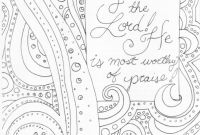 Praise and Worship Coloring Pages - Awesome Adult Coloring Pages the Lord is My Rock Gallery Collection