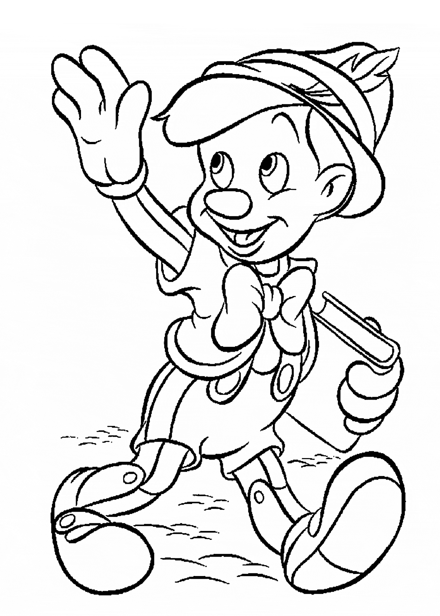 Print Free Coloring Pages Disney Gallery | Free Coloring Sheets