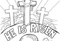 Coloring Pages Of Jesus Christ Resurrection - Awesome Jesus Resurrection Coloring Page Inspirational Coloring Download