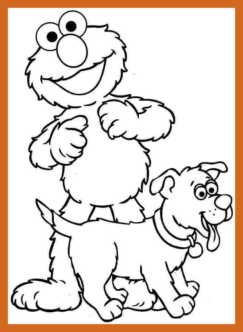 Free Sesame Street Coloring Pages to Print – Free Coloring Sheets