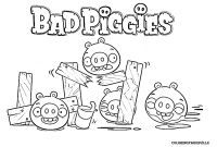 Angry Bird Pigs Coloring Pages - Bad Piggies Coloring Page Angry Birds Papercraft Collection