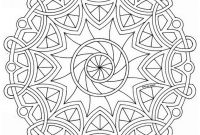 Celtic Mandalas Coloring Pages - Best Celtic Mandala Coloring Pages Design Collection
