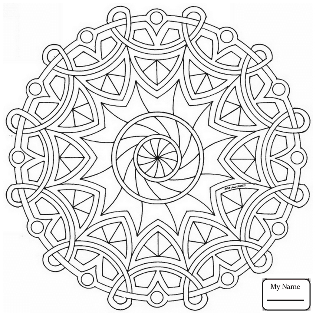 Celtic Mandalas Coloring Pages to Print 9g - To print for your project