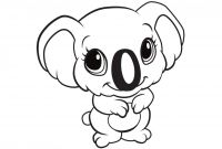 Free Baby Animal Coloring Pages - Best Cute Cartoon Animals Coloring Pages Gallery Collection