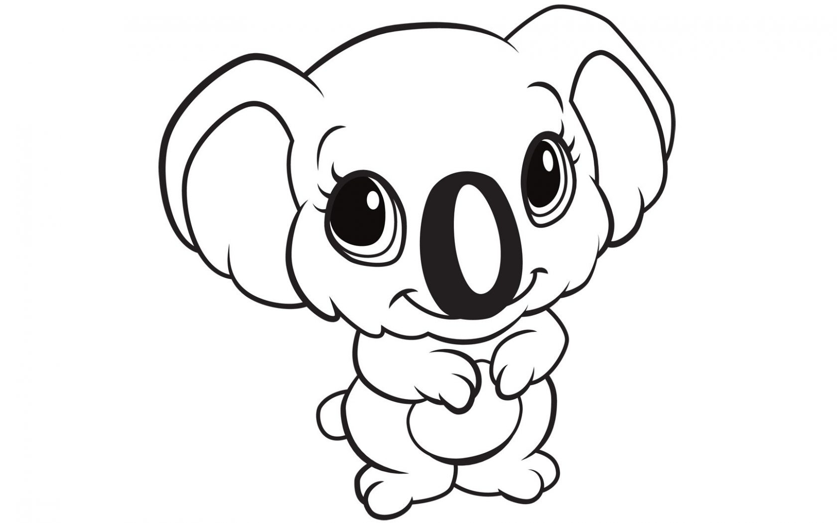 Ausmalbilder Zootiere: Free Baby Animal Coloring Pages Download