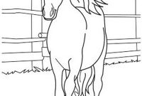 Race Horse Coloring Pages - Breakthrough Race Horse Coloring Pages to Print Fun for Your Kids Gallery