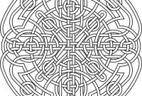 Celtic Mandalas Coloring Pages - Celtic Coloring Pages for Adults New Printable Celtic Mandala Printable