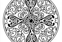 Celtic Mandalas Coloring Pages - Celtic Mandala Coloring Page Free Printable Pages Printable