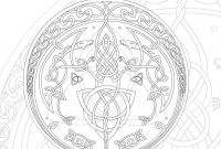 Celtic Mandalas Coloring Pages - Celtic Mandala Coloring Pages Bing Jewelry Printable