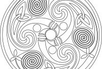 Celtic Mandalas Coloring Pages - Celtic Mandalas Coloring Pages Collection