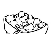 Coloring Pages Of Healthy Foods - Chinese Food Healthy Food Coloring Pages Free Clipart Images Image Download