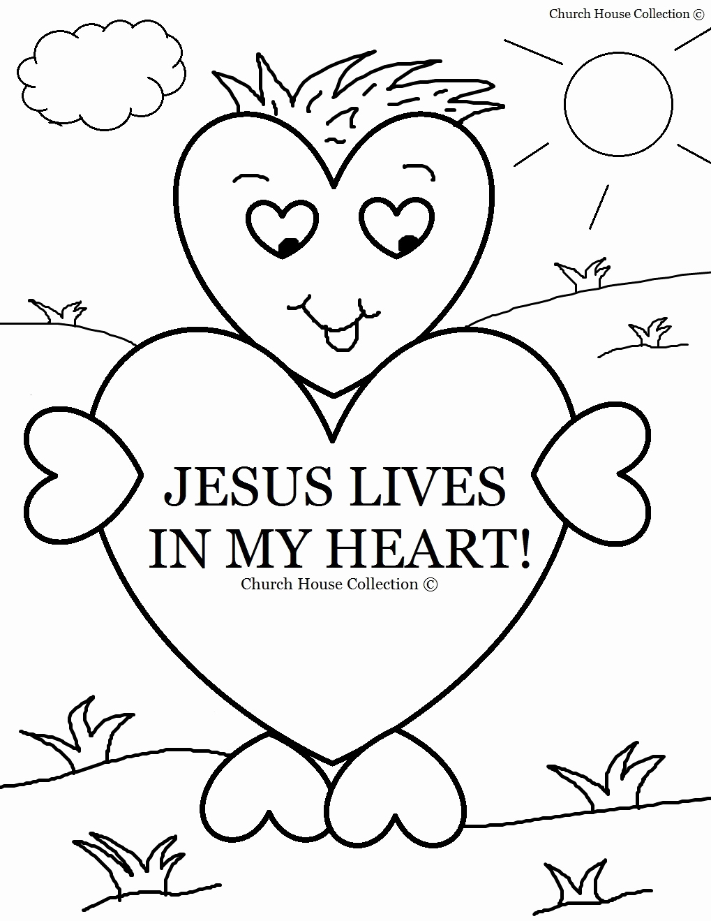 Christian Easter Coloring Pages Free Religious Printable