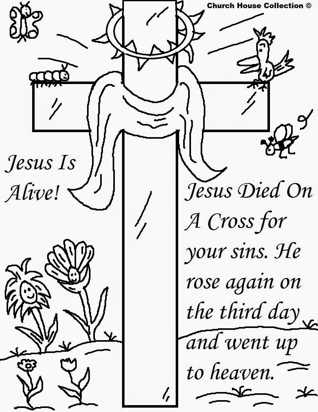 Coloring Pages Of Jesus Christ Resurrection Gallery 15b - Free Download