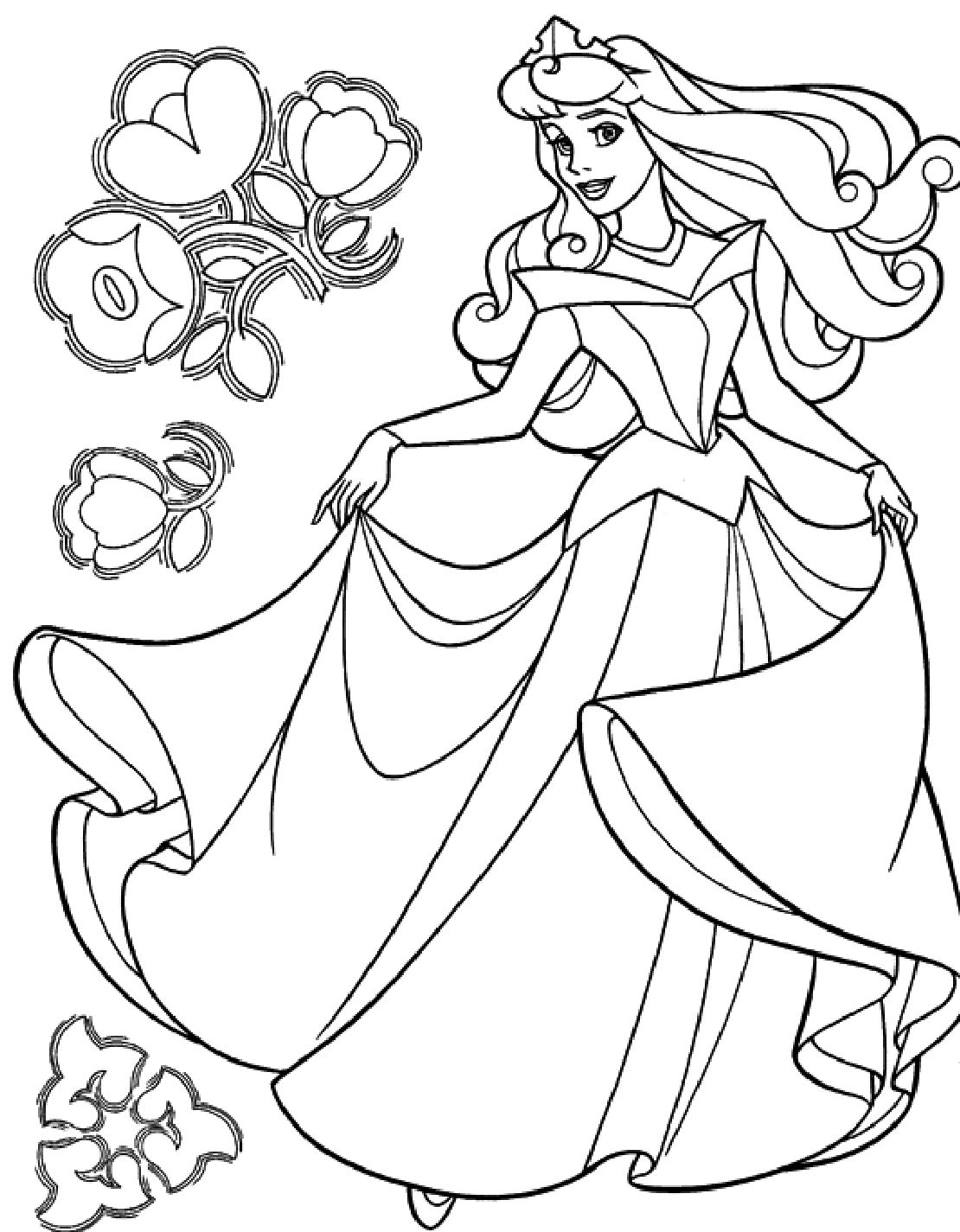 Cindirella Coloring Pages Printable Cindirella Coloring Pages Free Download Of Engaging Line Coloring Pages for Kids 19 Children Elegant Paper to Print