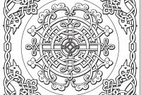 Celtic Mandalas Coloring Pages - Color Mandalas Colouring Pages Celtic Mandala 2 Coloring Page Free to Print