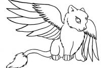 Winged Cat Coloring Pages - Color Winged Cat Critter Taeladragonfox Deviantart Coloring to Print