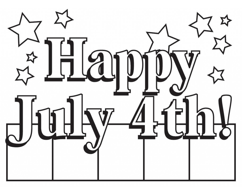 Coloring Pages 4th Of July Printable Printable | Free Coloring Sheets