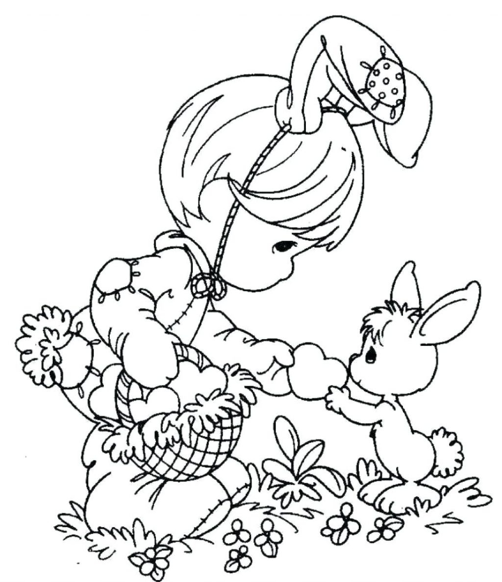 Easter Coloring Pages for School Download – Free Coloring Sheets