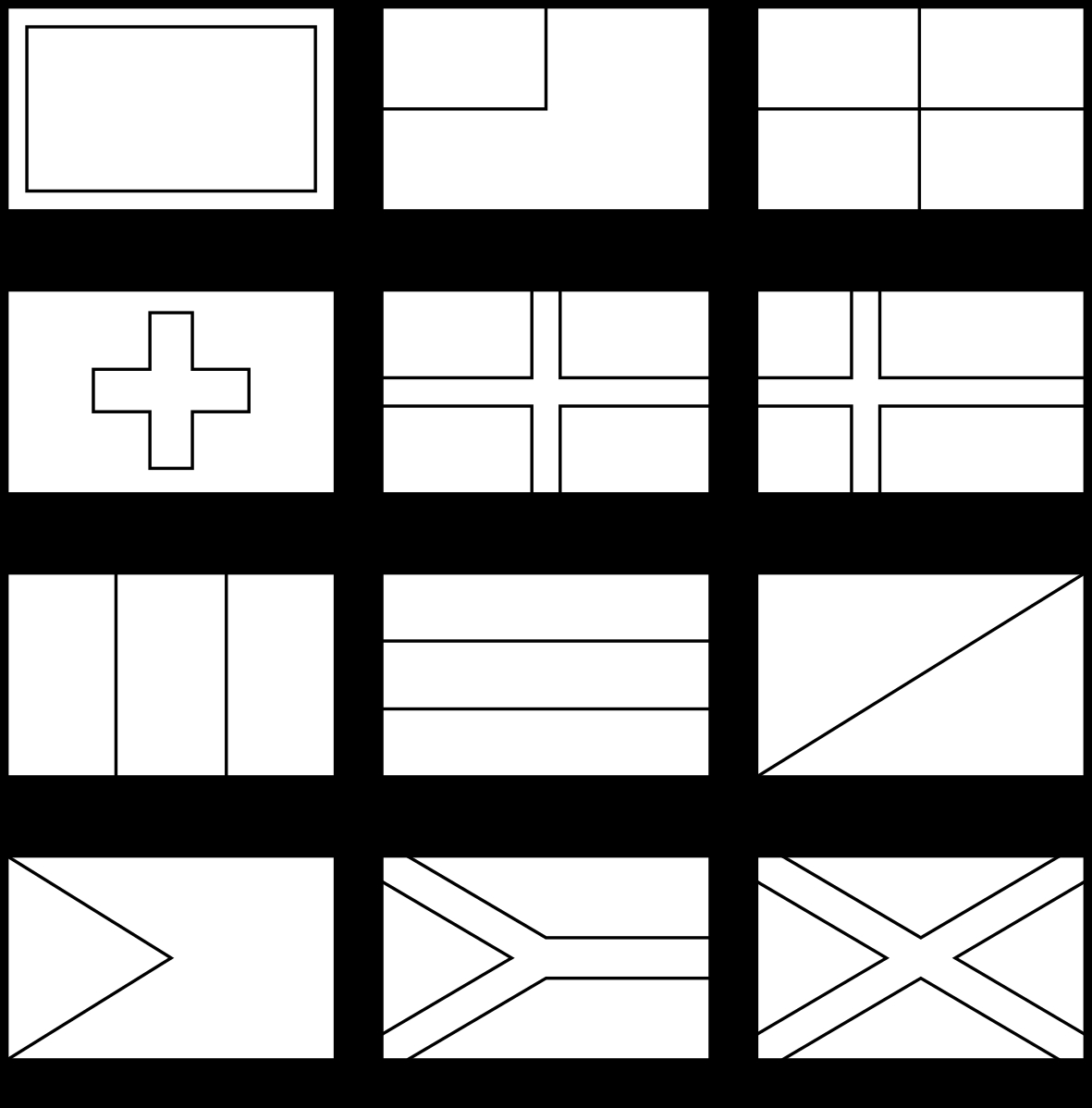 Coloring Pages Flags From Around the World to Print 8o - Free Download