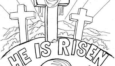 Sunday School Coloring Pages Easter - Coloring Pages for Kids by Mr Adron Easter Coloring Page for Kids to Print