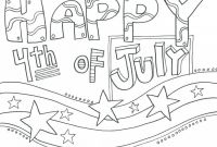 Coloring Pages 4th Of July Printable - Coloring Pages Fourth July Coloring Pages Happy Free Printable to Print