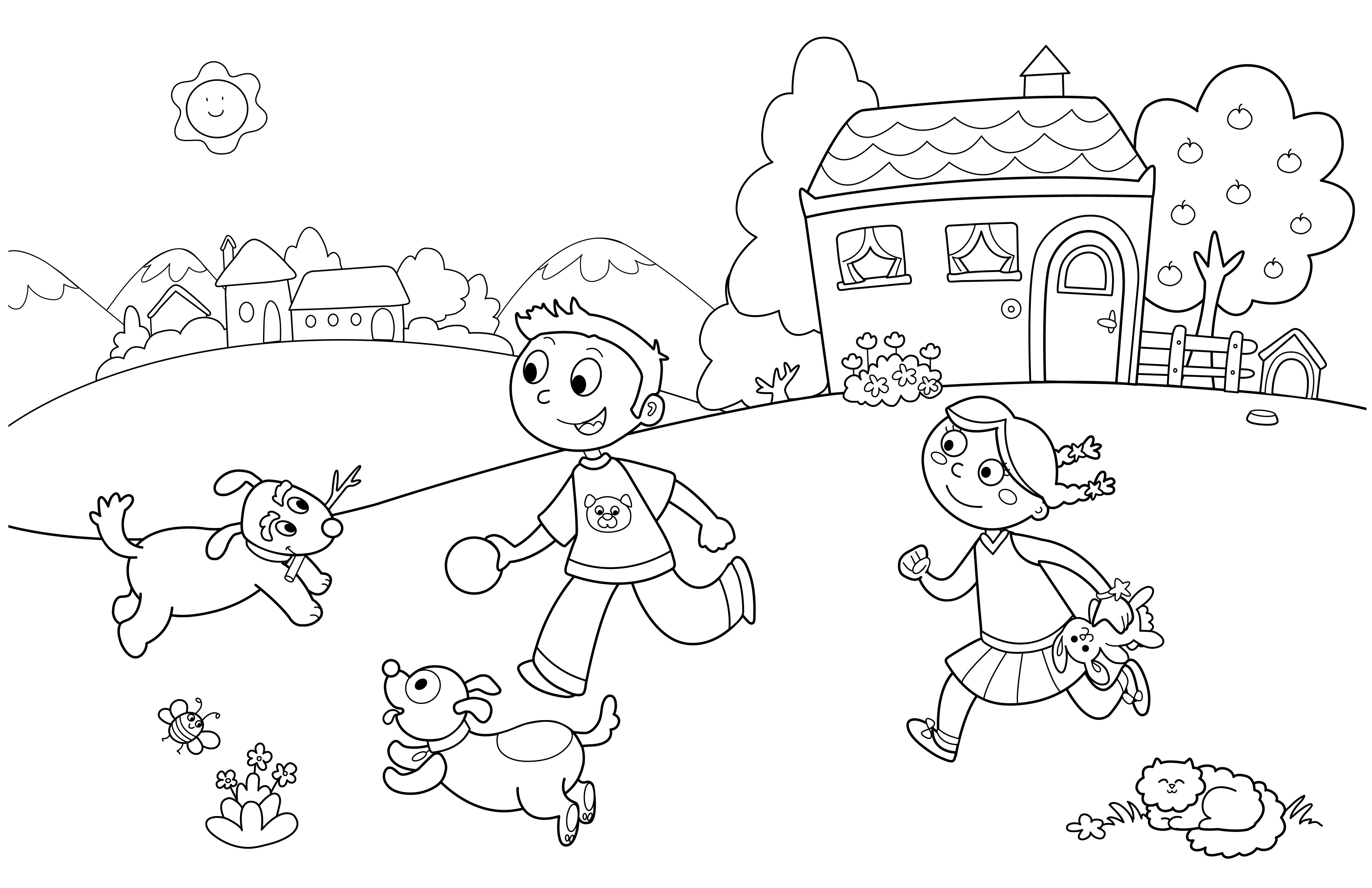 Summer Preschool Coloring Pages Collection   Free Coloring Sheets