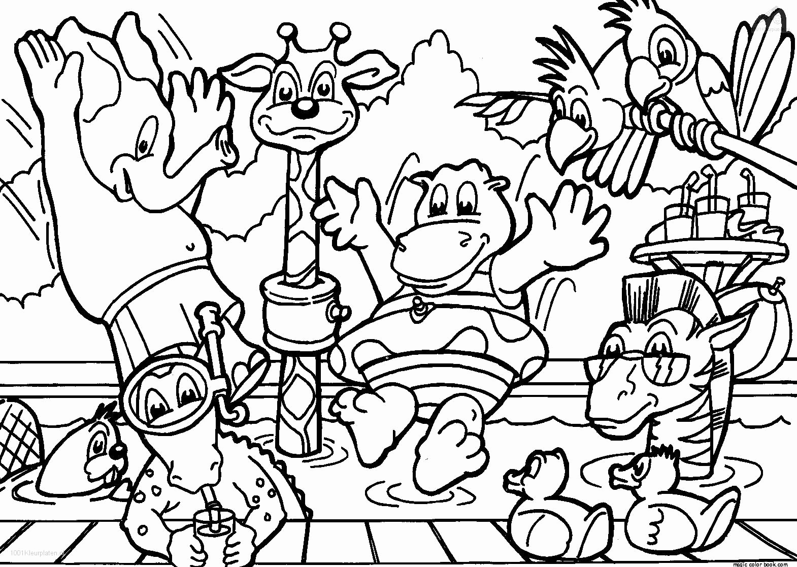 Excellent Spring Baby Animals Coloring Pages with Baby Animal ...