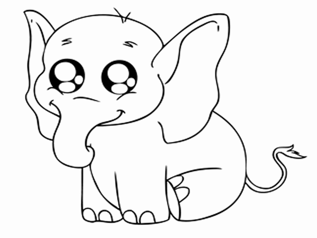 Baby Animals to Print – Free Coloring Sheets
